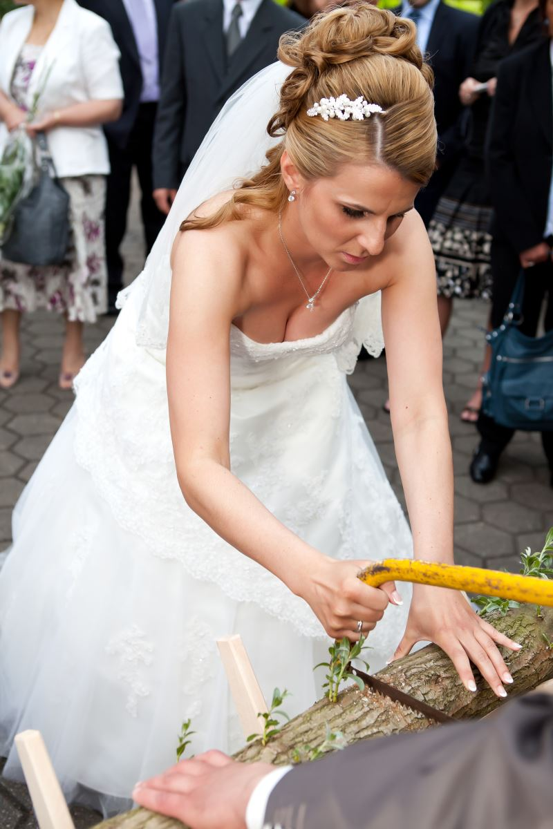 German wedding ceremony