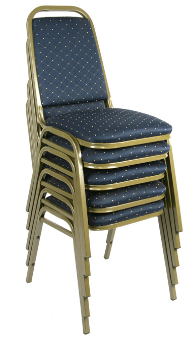 harrow stacking chairs gold frame