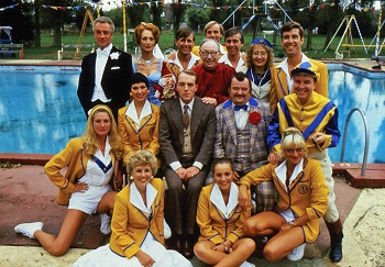 Hi Di Hi TV series - UK holiday parks