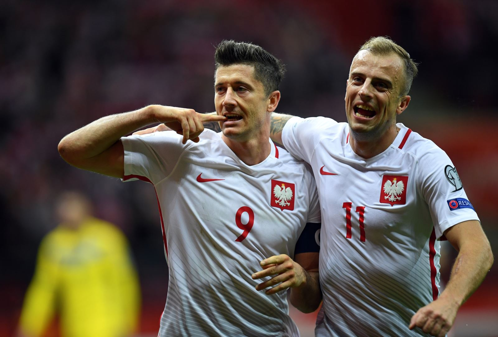Poland are among the teams who have qualified for this year's World Cup
