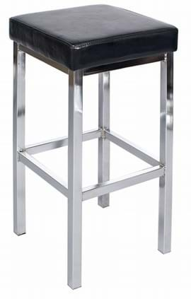 Tall Dakota Chrome Bar Stool