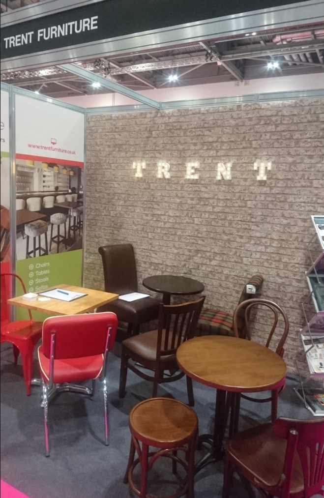 Trent furniture at the restaurant design show