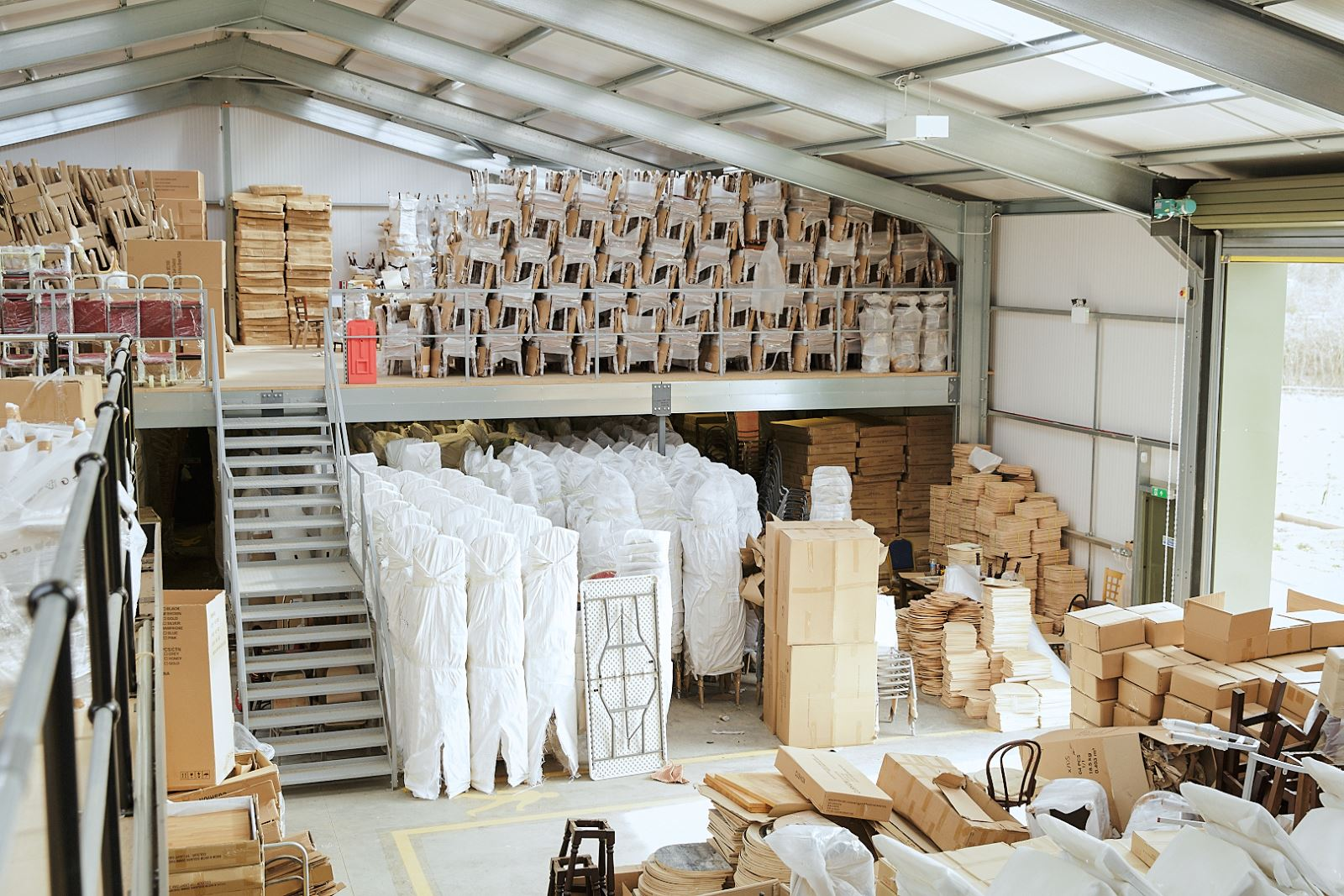 Trent Furniture warehouse and storage facilities
