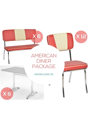 American diner furniture packages and special offers
