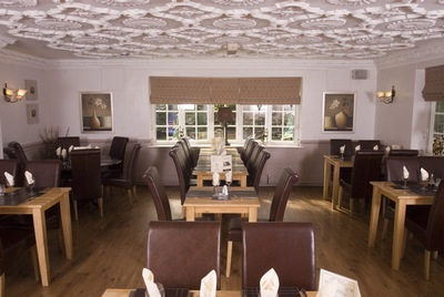 leather restaurant furniture, tables and chairs