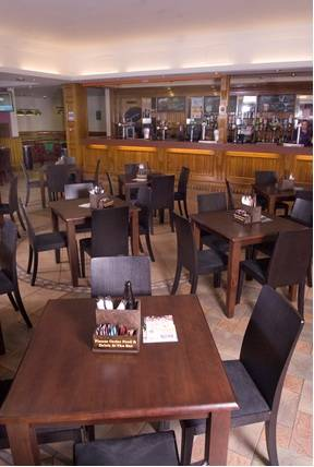 restaurant furniture wooden table and chairs