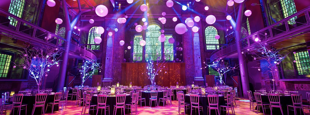 Christmas venues for work parties