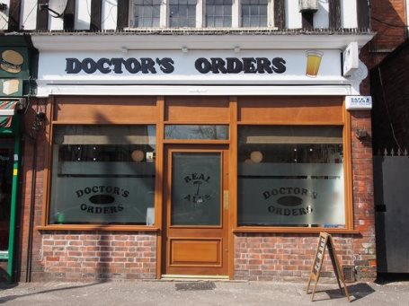 Doctors orders micro pub nottingham