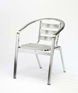 Monaco Aluminium pub garden furniture stacking chair