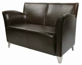 pub leather sofa