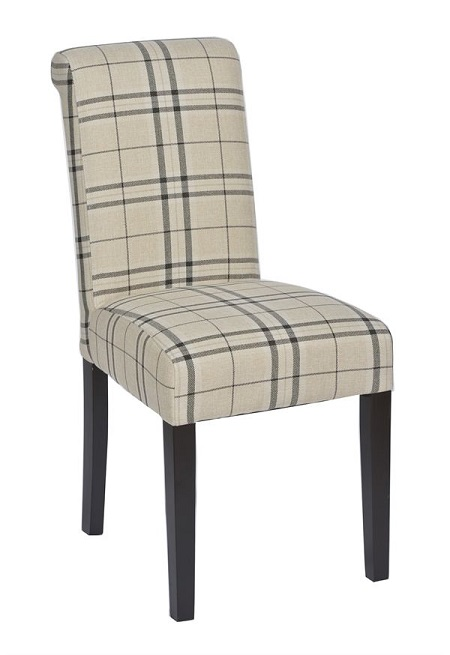 Trent Furniture's Rimini restaurant dining chair with upholstery that reduces restaurant noise