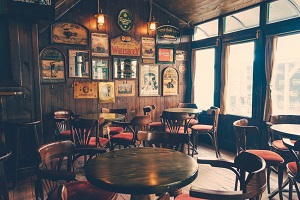 Rustic pub furniture