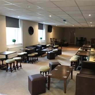 Football Club renovate untouched mid-80s function room