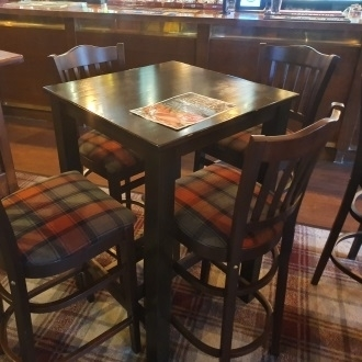 Trent Furniture's traditional pub pieces now at the New Baron of Hinckley