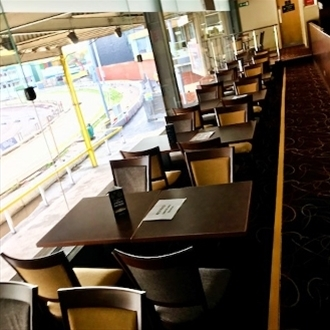 Take a seat for greyhound racing at Sheffield Stadium with Trent Furniture
