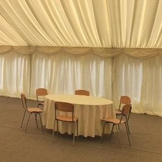 New furniture for historical Cromford Mills venue