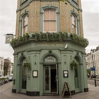 The Finborough Arms reopens in style
