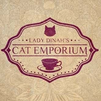 Trent Furniture provide cat and human friendly furniture to Lady Dinah's Cat Emporium