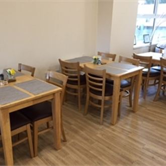 Furniture package adds to café's refurbishment
