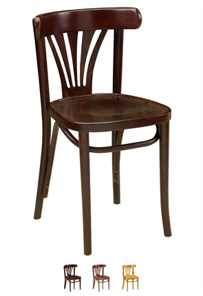 High Quality Fanback Side Bentwood Chair from Trent Furniture