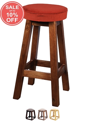 BS/4U - Tall Shaker Stool Piped Top  sc 1 st  Trent Furniture & Pub u0026 Bar Stools Contemporary u0026 Classic Styles in Wood/Metal islam-shia.org
