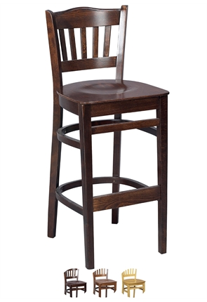 High Quality Tall Boston Bar Stool from Trent Furniture | Pub Chair