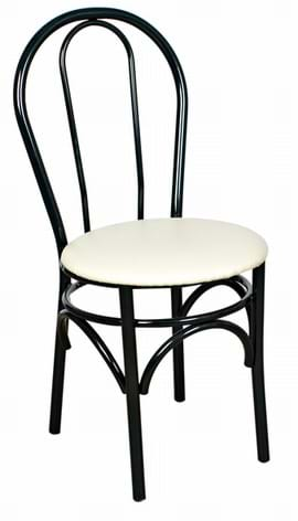 Rio Black Side Chair from Trent Furniture | Café & Restaurant Furniture