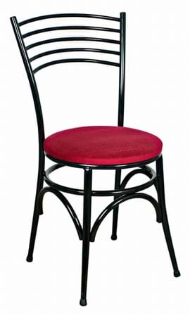 Napoli Black Side Chair from Trent Furniture | Café Furniture