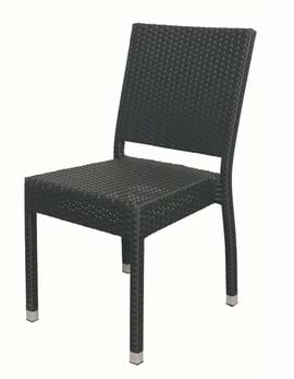High Quality Black Rattan Plaza Chair | Outdoor Furniture