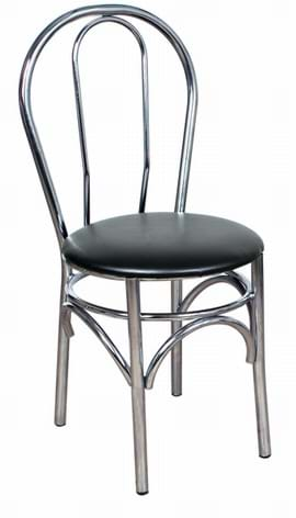 Rio Chrome Side Chair from Trent Furniture | Café Furniture