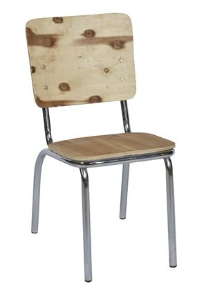 High Quality American Diner Chair Frame & Board By Trent Furniture