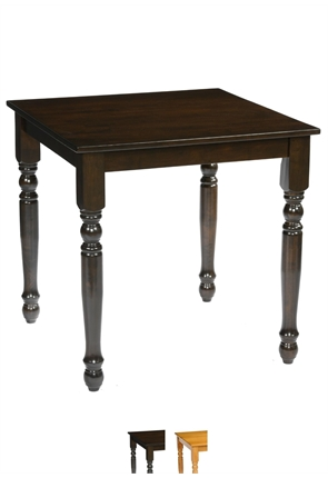 High Quality Square Farmhouse Table from Trent Furniture | Pub Table