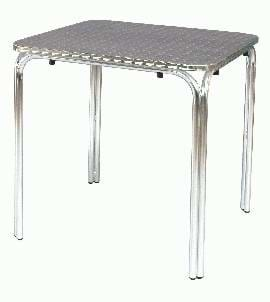 High Quality Waterproof Rossa Aluminium Stacking Table | Outdoor Furniture
