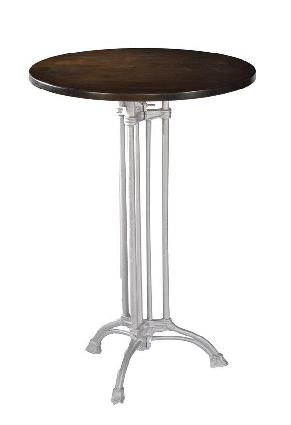 chrome furniture. high quality chrome art deco poseur table cast iron furniture