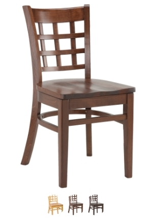 High Quality Squareback Side Chair from Trent Furniture | Restaurant Chair