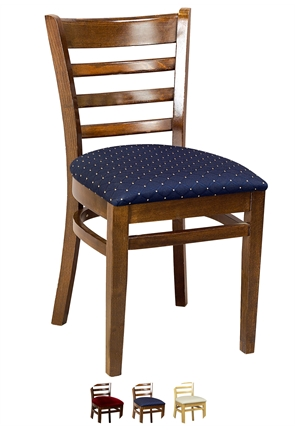 High Quality Washington Side Chair Upholstered from Trent Furniture | Restaurant Chair