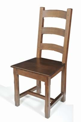 High Quality Solid Oak Rustic Country Chair from Trent Furniture | Restaurant Chair