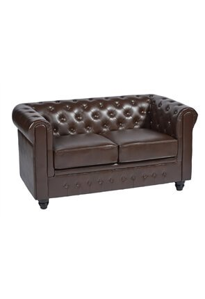 High Quality Chesterfield Two Seater Restaurant Sofa from Trent Furniture