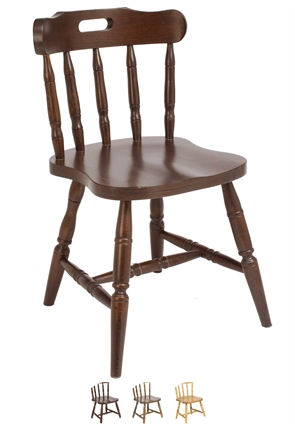 High Quality Straight Leg Mates Chair from Trent Furniture | Restaurant Chair