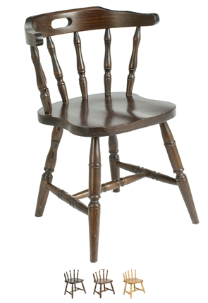 High Quality Straight Leg Captains Chair from Trent Furniture | Restaurant Chair