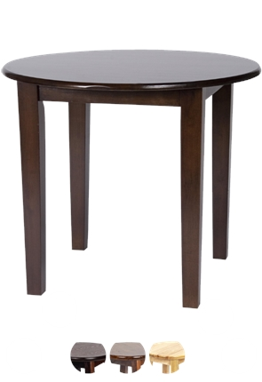 Round Shaker Table from Trent Furniture | Restaurant Furniture