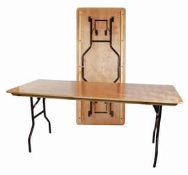 6' American Style Folding Table
