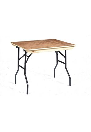 3' American Style Trestle Table