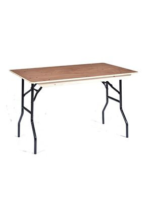 4' American Style Trestle Table
