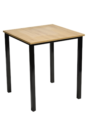 Light Oak Square Stacking Table