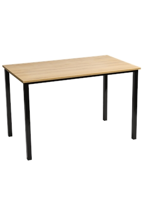 Quality Light Oak Rectangular Stacking Table