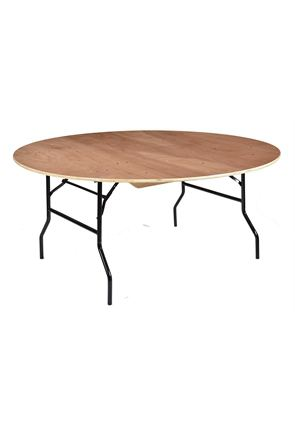 Round Folding Banqueting Table, 168cm