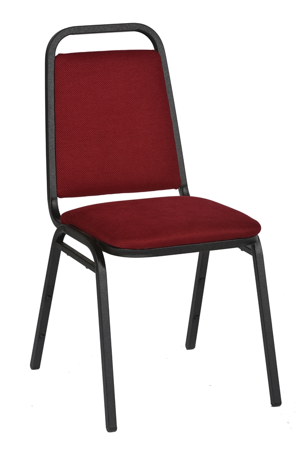 harrow black framed steel stacking banqueting chair