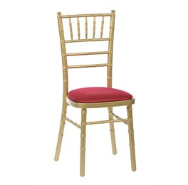 High Quality Gold Chiavari Stacking Chair From Trent Furniture