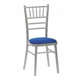 High Quality Silver Chiavari Stacking Chair From Trent Furniture